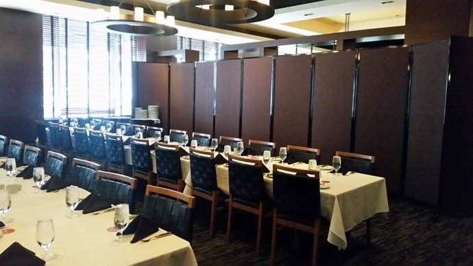 private dining room divider