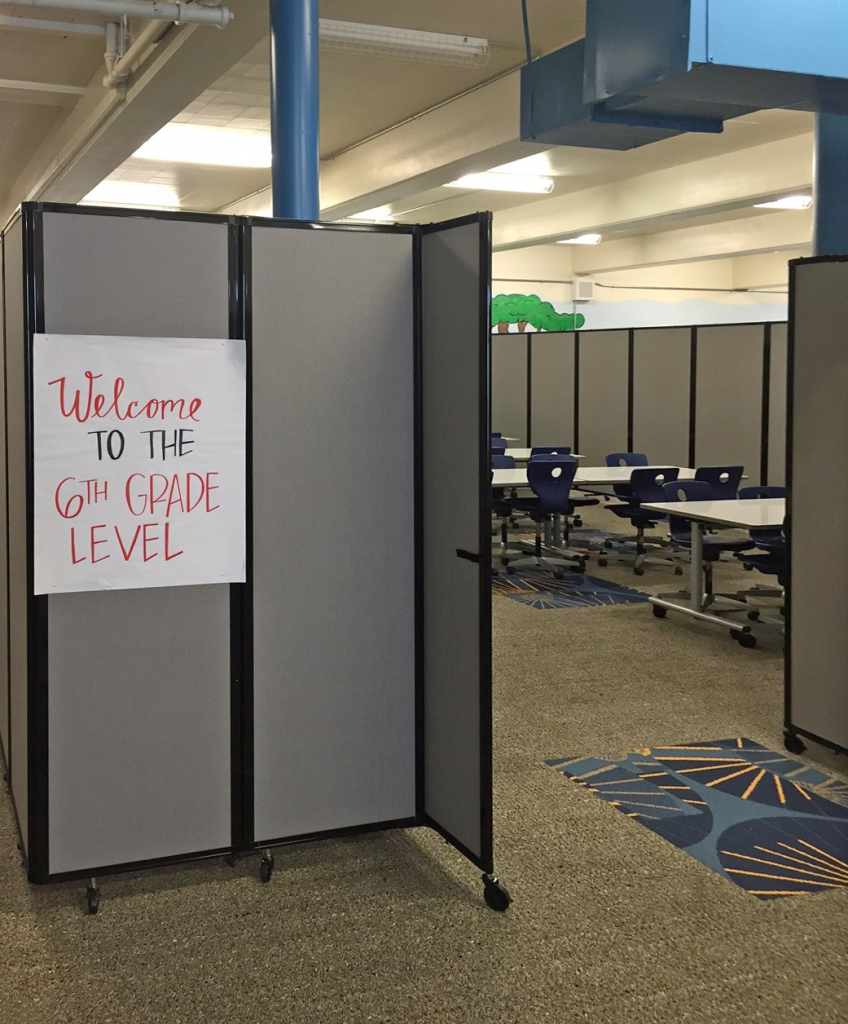 school classroom partitions