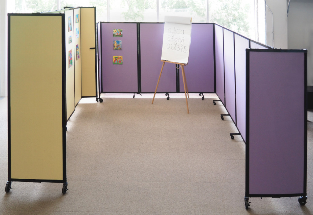 classroom partition wall
