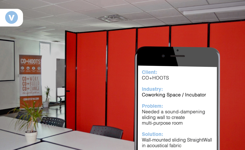 coworking space room divider