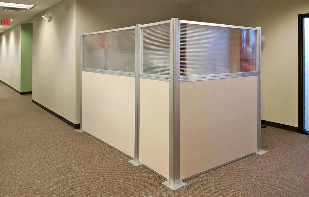 temporary cubicles