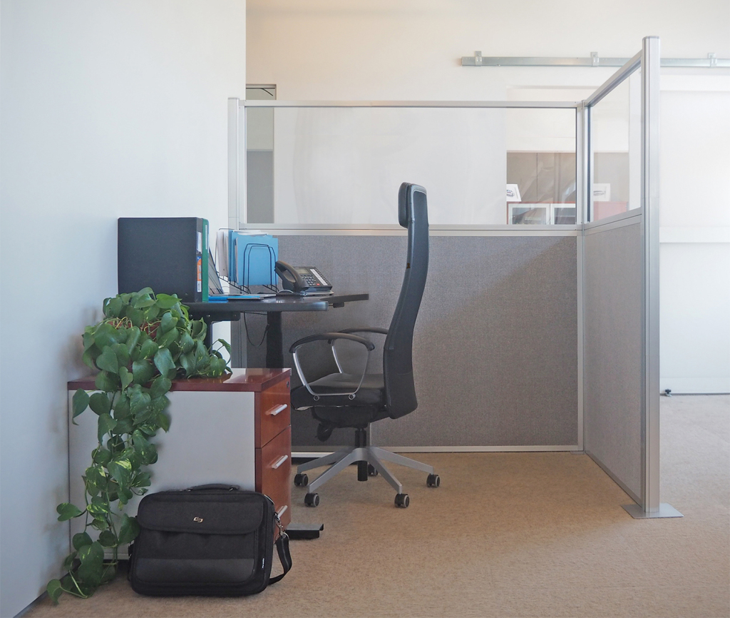 office cubicle partition
