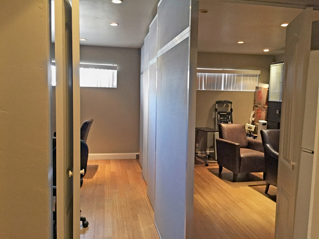 Sliding Door Room Divider