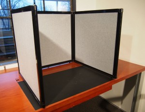 portable partitions tabletop