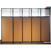wall-mounted room divider
