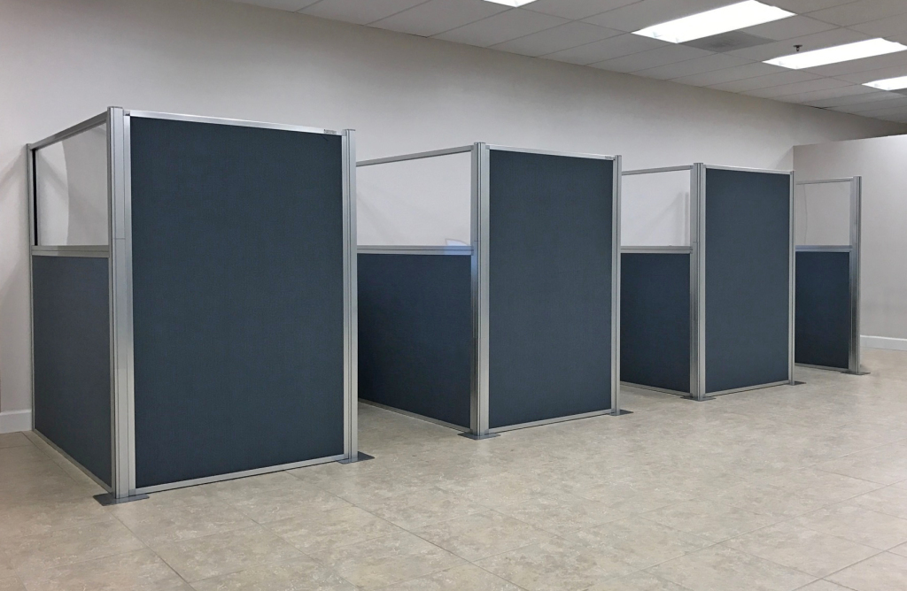 temporary office cubicles