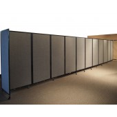wall-mounted partition