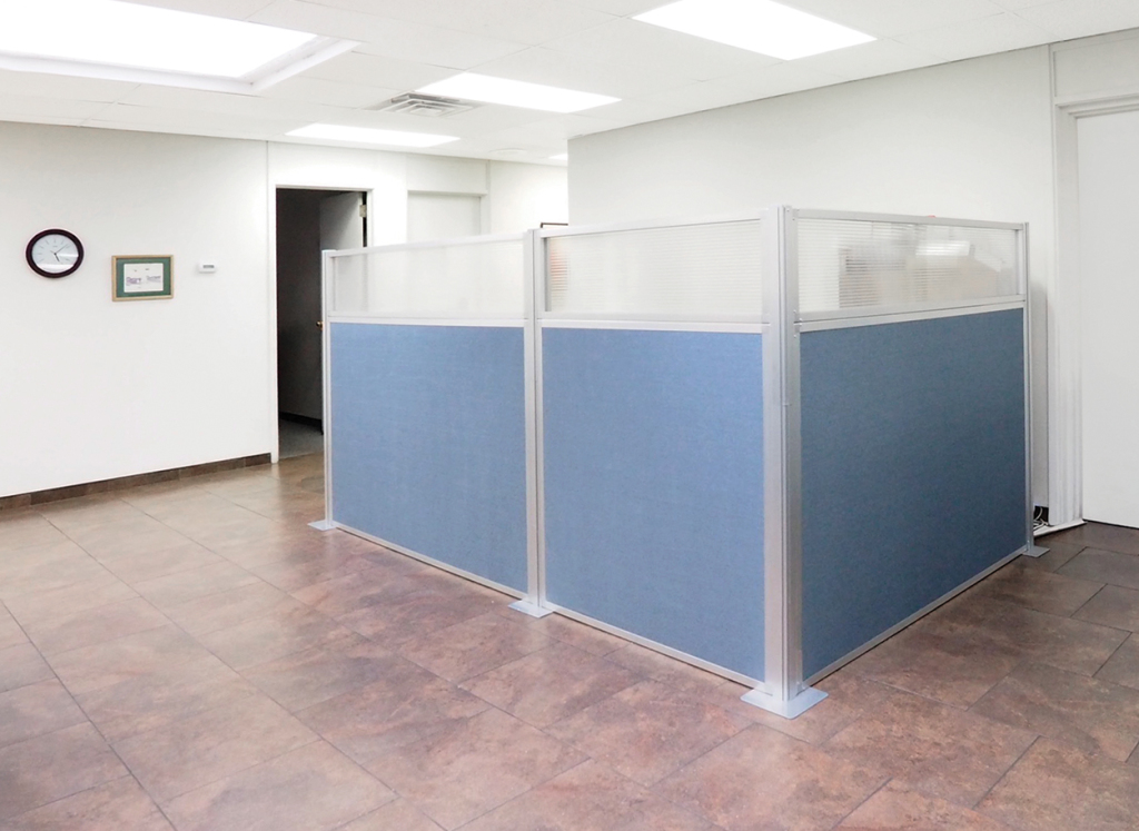 cubicle workspace privacy